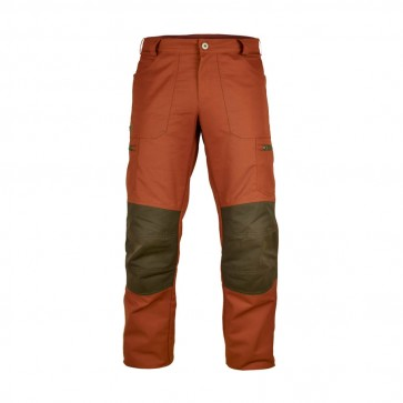 "Herren-Outdoorhose ""Wanderbux"", Orange/Braun"