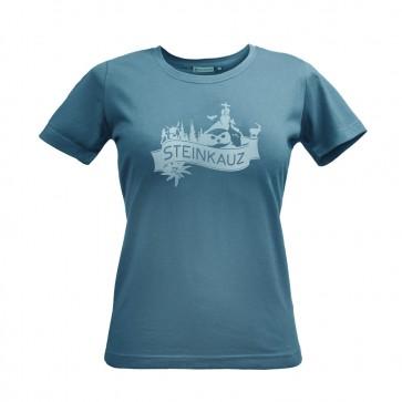 """STEINKAUZ Damen T-Shirt """"Gipfelkreuz"""""""