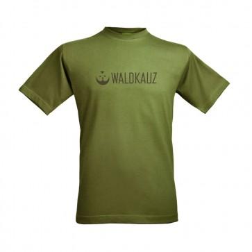 "Herren T-Shirt, ""Logo"" moosgrün"