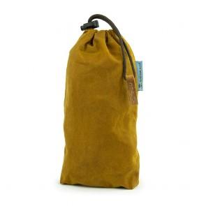 Modulus® Flaschenbeutel, Waxed Cotton, Safran