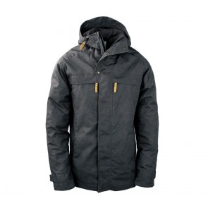 "STEINKAUZ Outdoorjacke ""Windfang"", Anthrazit"
