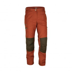 "Damen-Outdoorhose ""Wanderbux"", Orange/Braun"