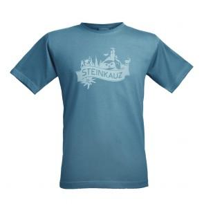 """STEINKAUZ Herren T-Shirt """"Gipfelkreuz"""""""